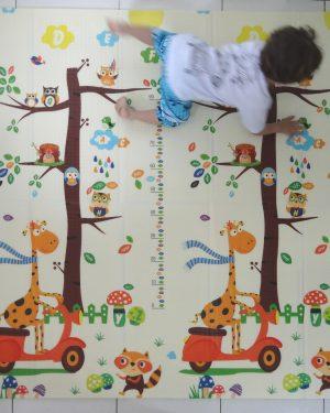 Tapete-Girafa-Moto-Crianca