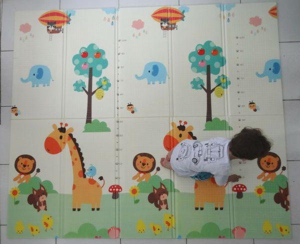 Tapete-Girafa-Leão-Criança
